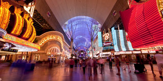 Fremont Street - Las Vegas, Nevada Stock Photo