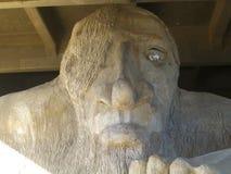 Fremont Troll - Seattle, Washington fotografie stock libere da diritti