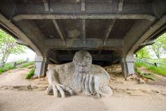 Fremont Troll Stock Photography