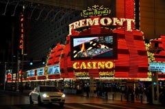 Fremont w ciemnej nocy Zdjęcie Stock