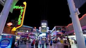 Fremontstraat - Las Vegas, Nevada Stock Afbeeldingen