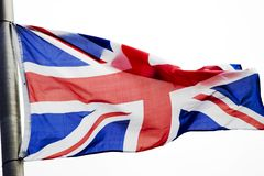 förenat flaggakungarike Royaltyfria Bilder
