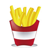 Frenc fries Stock Image