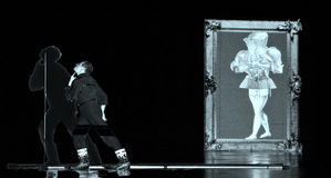Frence modern dancer Royalty Free Stock Photo