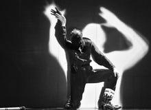 Frence modern dansare Arkivfoton