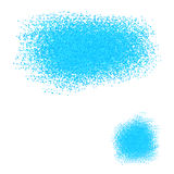 French abstract blue background scattering of small particles Royalty Free Stock Photo