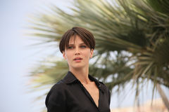 French actress Marine Vacth stock photography