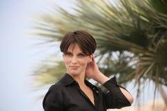 French actress Marine Vacth royalty free stock photo