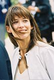 French actress Sophie Marceau stock photography