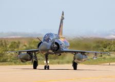 French Air Force Mirage 2000 fighter jet plane Stock Photos