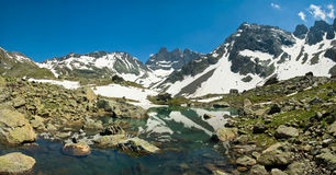 French alpes royalty free stock photography