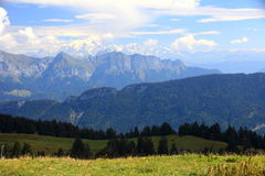 French Alpes summer Stock Images