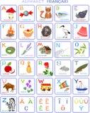 French alphabet Stock Image