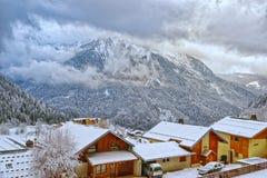 French alpine village Royalty Free Stock Image