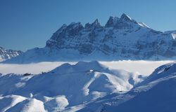 The French Alps Stock Photography