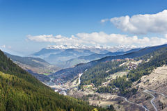French Alps. Stock Photo