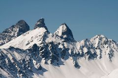 French Alps Stock Image