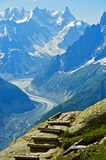 In the French Alps Stock Images