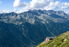 French alps in Chamonix Stock Images