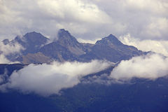 French Alps Stock Photo