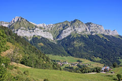 French Alps Royalty Free Stock Photo