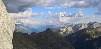French Alps. Mountain landscape Stock Photography