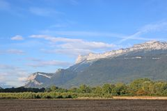 French Alps Stock Images