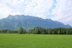 French Alps Royalty Free Stock Photos