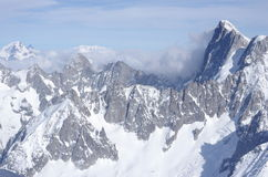 French Alps Royalty Free Stock Images