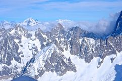 French Alps Stock Photography