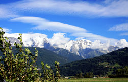 French Alps Royalty Free Stock Photography
