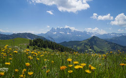 French Alps ,Rhone - Alpes region Stock Image