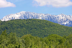 French Alps. In the spring Royalty Free Stock Images
