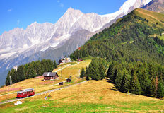 French alps on summer Stock Photography