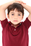 French American Boy Stock Photo