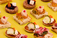 French appetizer Stock Photo