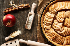 French apple pie Stock Image