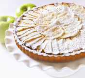 French Apple Tart Royalty Free Stock Images