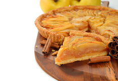 Free French Apple Tart Royalty Free Stock Photography - 38261077
