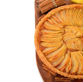 French apple tart Stock Photography