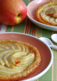 French apple tart Stock Photos