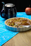French Apple Tart Cake Sweet Dessert Pie Stock Photography