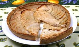 French apple tart Royalty Free Stock Photo