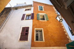 French architecture and color Stock Photo