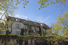 French architecture, houses in Paris Royalty Free Stock Image