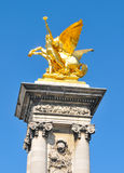 French architecture in Paris Royalty Free Stock Image