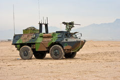 French Army Light Armored Vehicle Royalty Free Stock Photo