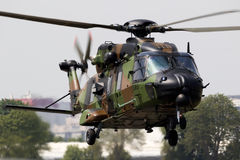 French Army NH Industries NH90 Caiman helicopter Royalty Free Stock Image