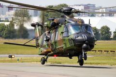 French Army NHIndustries NH90-TTH Caiman helicopter Stock Images