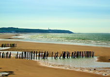 French Atlantic Coast Royalty Free Stock Photography